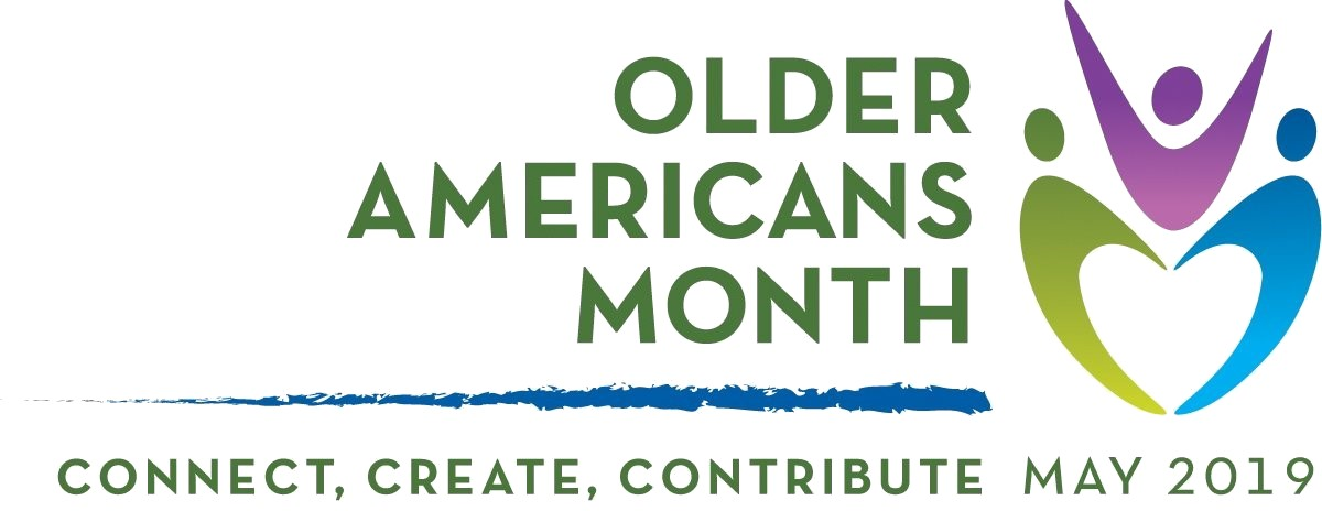 Older Americans' Month Logo 2019